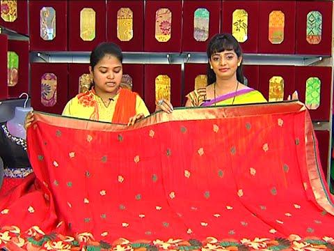 Latest Collection of Pattu and Fancy Sarees | Sogasu Chuda Tarama | Vanitha TV 24 July 2015 03 19 PM