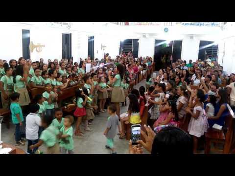 Grupo de Crianças da Assembleia de deus em Cipó