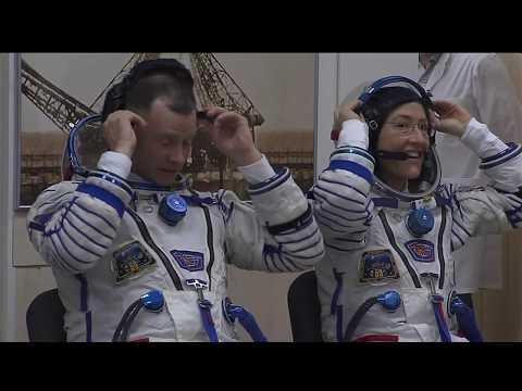 NASA Television Video File  Expedition 59-60 Soyuz MS 12 Launch © NASA Video