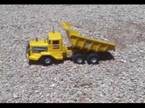 Vintage Marx Big Job Dump Truck