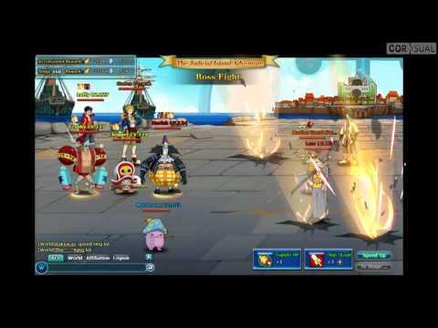 Pockie Pirates: Monkey D Luffy (Enies Lobby combat)