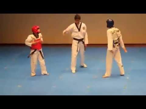 Funny Taekwondo chết cười với 2 thàng này