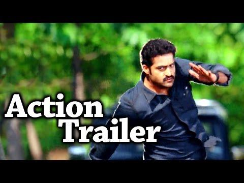 Rabhasa Movie Latest Action Trailer  JrNtr Samantha Pranitha