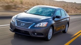 2013 Nissan Sentra - Drive Time Review With Steve Hammes