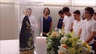 Visita Imagem Peregrina de N. Sra. Aparecida ao Colégio Agostiniano