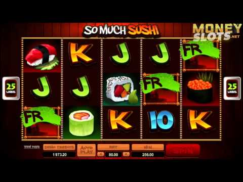 So Much Sushi Video Slots Review  |  MoneySlots.net