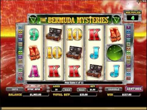 The Bermuda Mysteries Slots Free Spins and Bonus Game