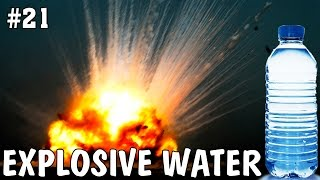 This video is about experiments with water. Did you know, that water can be very dangerous? Explosively dangerous! I carried out some crazy experiments and wanna show it to you guys!Hot water, cold water, hard water, desintegrated water - water can destroy things in all possible states!It is hotter than lycopodium powder on water, beacuse of BIG BOOM!My next video will be about some incredible tricks with water!---------------------------------------------Patreon: https://goo.gl/ksXs2xFacebook: https://www.facebook.com/AlexGyver12