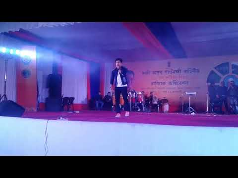 Video MASOLE GOISILUNG Live Performance of Neel Akash at Duliajan Bihutoli on 28 January 2018. download in MP3, 3GP, MP4, WEBM, AVI, FLV January 2017