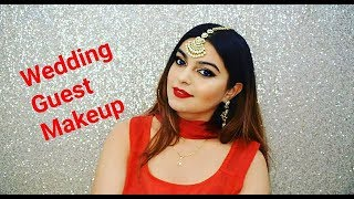 Indian wedding Guest makeup tutorial-------------------------------------------- •My Equipment• Camera used: https://goo.gl/aow3ezTripod: https://goo.gl/LYTBHmSoftbox: https://goo.gl/iqWq8K Mic: https://goo.gl/XNCVJtBackdrop stand: https://goo.gl/eKTqQBFollow Me On my Social Media For Updates https://www.instagram.com/misha.chawla/