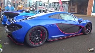 BLUE MSO Mclaren P1 START-UP & ACCELERATING! by 458MRP
