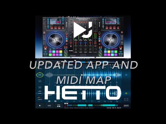 DJ Player 9/ MCX8000 Midi Map update by HETTO