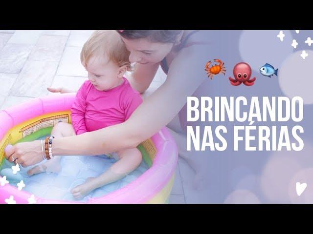 NOSSA ROTINA DE FÉRIAS COM BEBÊ - Juliana Goes