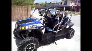 9. 2010 RZR 4 -- Robby Gordon Edition -- 5 Seater