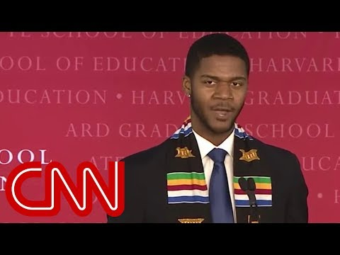 Harvard graduate's unique speech goes viral (видео)