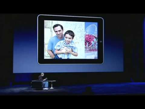 iPad: Steve Jobs presents Apple's new tablet