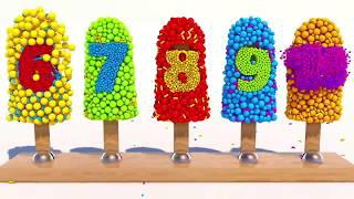 Video Learning Numbers with 3D Ice Cream for Children MP3, 3GP, MP4, WEBM, AVI, FLV Juni 2017