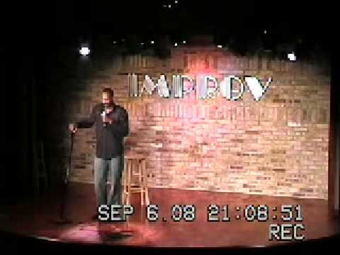 Frank Townsend At the Improv