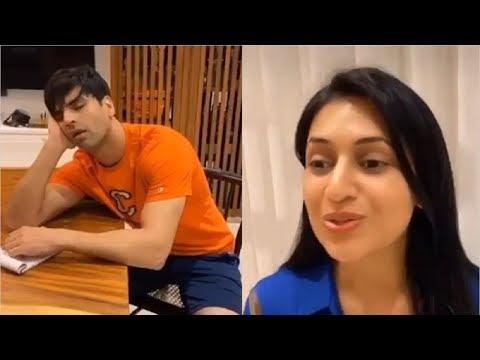 Divyanka Tripathi & Husband Vivek Dahiya CUTE Video Together At Home