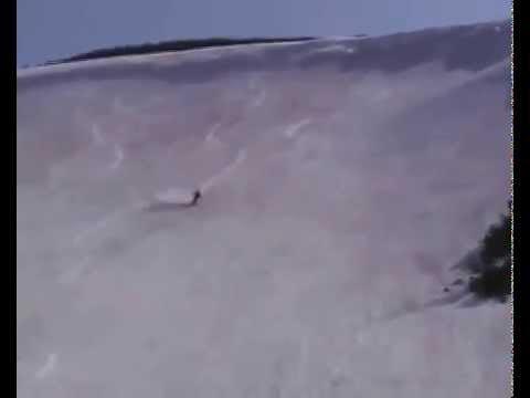 Магадан, Арманский перевал - каталка 14 июня 2009 г. (видео)