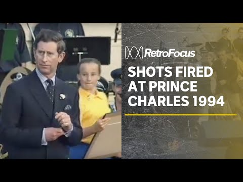Prince Charles casually shrugs off a 1994 assassination attempt [0:42]