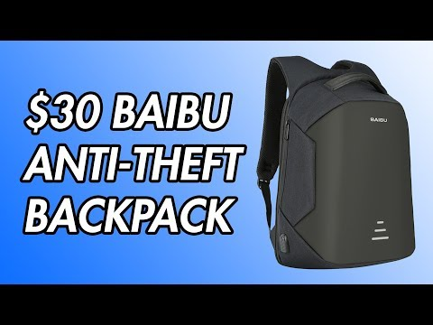 $30 Baibu Anti-Theft Backpack Review!