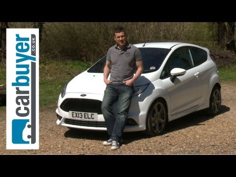 ford - Ford Fiesta ST review http://bit.ly/10nCAkZ Subscribe to the CarBuyer YouTube channel: http://bit.ly/17k4fct The 180bhp Ford Fiesta ST is a great fun hot hat...