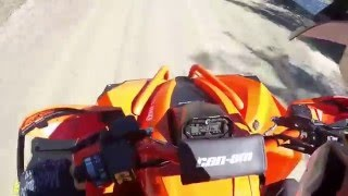 9. Top speed - 2016 can am renegade 850 - stock