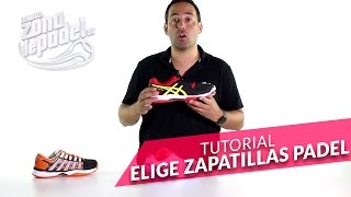 video Tutorial: Como elegir una zapatillas de padel