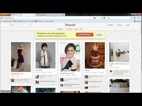 01- Imparare PINTEREST il nuovo Social Network ITALIANO VideoRipetizione 01