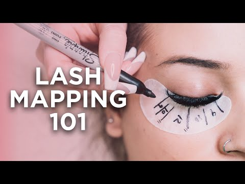 Lash Mapping Techniques For Beginners