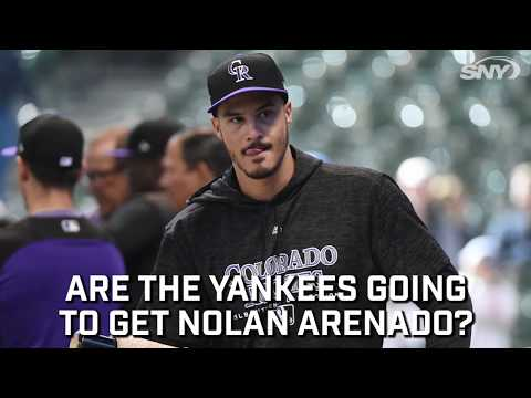 Video: Could the Yankees be making a push to get Nolan Arenado?