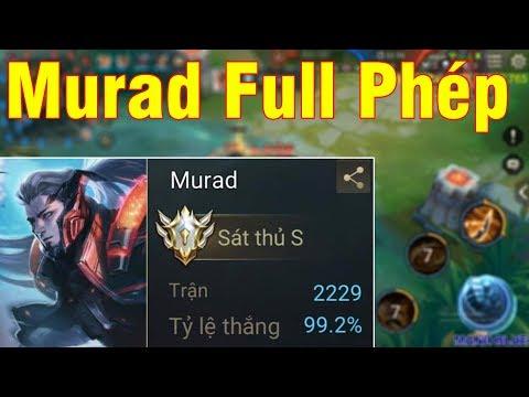 Mạnh Blue Quẩy Acc Murad 2229 Trận 99,2% Tỉ Lệ Thắng Lên Full Phép Và Cái Kết - Thời lượng: 19:44.