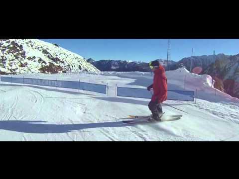 Ski à Cauterets le 19 dec. 2014.