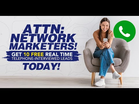 Get 10 FREE Leads