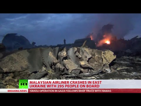 Malaysia MH17 crash scene: Militia and witness reports