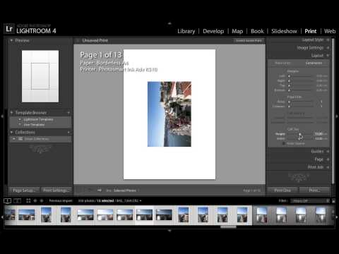 Drukuj zdjęcia prosto z Lightrooma - poradnik wideo