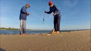 Pescaria De Robalos E Pescada Com Camarão Monster.