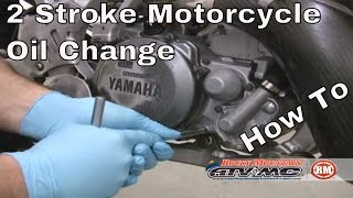 7. How to change oil on a 2 stroke motorcycle/ATV- Motorcycle Oil