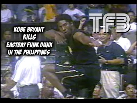 footage - Awesome footage sent from my friend Thomas of Kobe Bryant putting on a Dunk Show in the Philippines, Always wish he would have been in the 2000 Dunk Contest with Vince.. Do you think Kobe is...