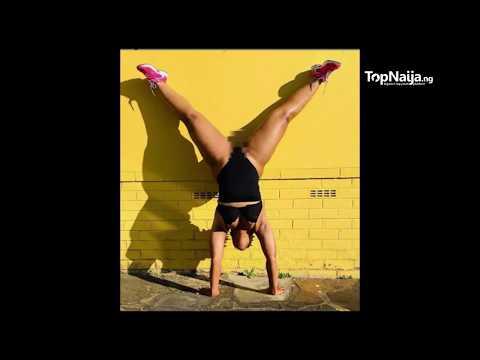 Zodwa Wabantu puts her pub*c hair on display, shows her acrobatic skills with impressive handstand