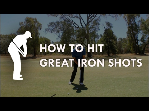 How to hit great iron shots – Golf Instruction by Craig Hanson