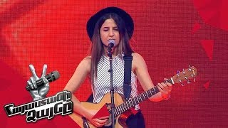 Video Sona Dunoyan sings 'Issues' - Blind Auditions - The Voice of Armenia - Season 4 MP3, 3GP, MP4, WEBM, AVI, FLV Januari 2018