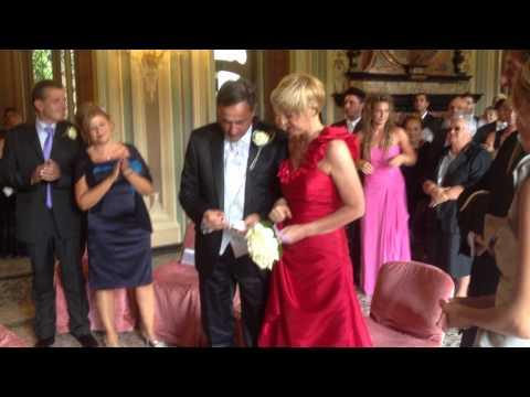 Il segretario di Cgil Varese, Franco Stasi si sposa