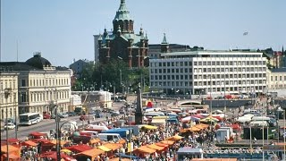Helsinki Finland  city photos gallery : Market Square ,Helsinki , Finland (Ultra 4K)