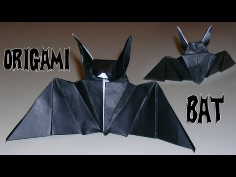 Make Your Origami Bats for Halloween