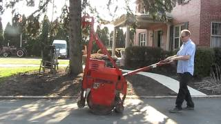 7. Tail Gate Vibratory Roller Walk Behind ESSICK Gas For Sale on EBay