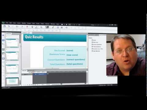 SCORM - Dr. Allen Partridge, Adobe eLearning Evangelist describes and demonstrates how Adobe Captivate 6 works effortlessly with Scorm and AICC compliant Learning Ma...