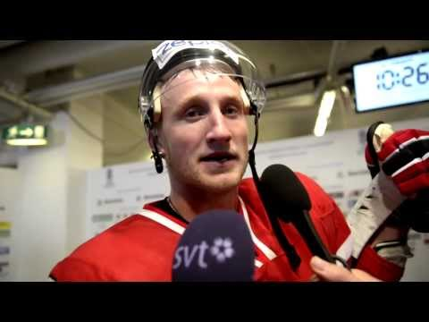 steven stamkos - Steven Stamkos efter 7-1 matchen mot Norge.