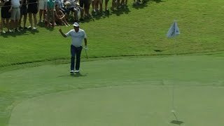 Jason Dufner drops in a 38-footer at the TOUR Championship by PGA TOUR